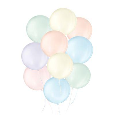 141229-Balao-Candy-Colors-N5-Sortido-com-25-un-SAO-ROQUE