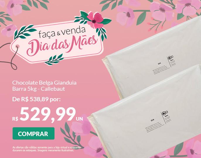 =CHOCOLATE BELGA GIANDUIA - BARRA 5KG CALLEBAUT