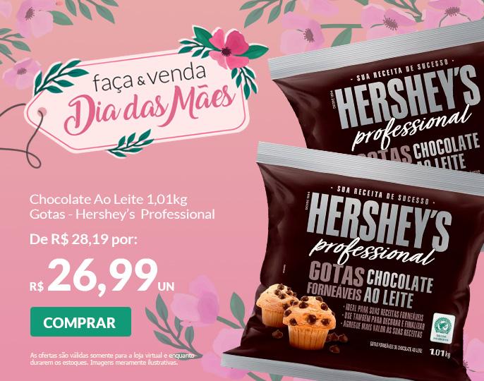 =CHOCOLATE PROFESSIONAL HERSHEY'S AO LEITE 1,01KG EM GOTAS