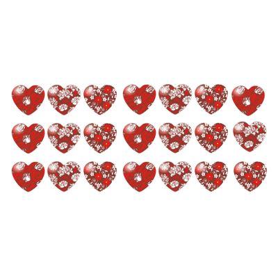 147186-Blister-Coracao-com-Rosas-Vermelho-com-21-Cav--BLP00130321--un-STALDEN