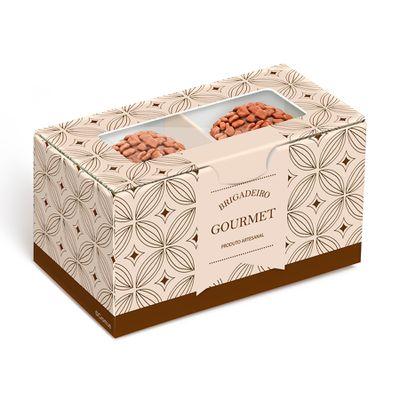 148088-Caixa-Gourmet-Kraft-para-2-Doces--13000596--com-10-un-CROMUS
