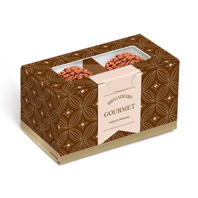148090-Caixa-Gourmet-Marrom-Ouro-para-2-Doces--13002164--com-10-un-CROMUS