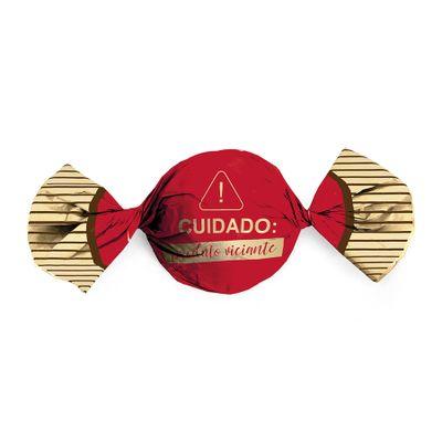 150215-Embalagem-para-Trufas-e-Bombons-Produto-Viciante-Vermelho-145x155cm--12500185--com-100-Un-CROMUS