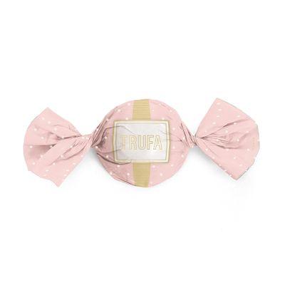 79097-Embalagem-para-Trufas-e-Bombons-Petit-Poa-Rosa-Ouro-145x155cm--12500077--com-100-Un-CROMUS