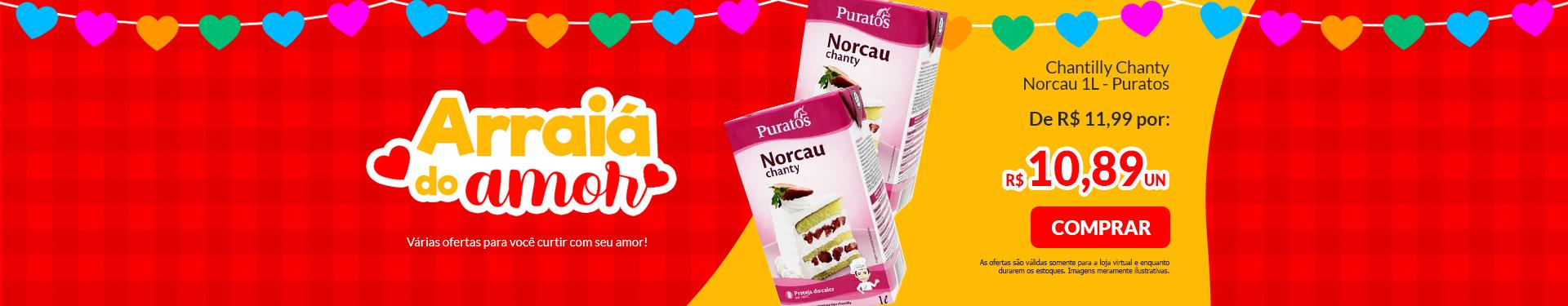 #CHANTILLY CHANTY NORCAU 1L PURATOS