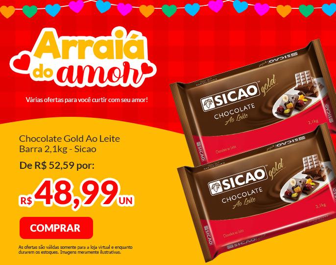 #GOLD SICAO AO LEITE BARRA