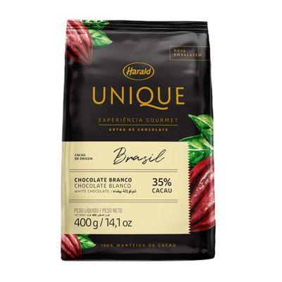 140134-Chocolate-Unique-Brasil-Branco-35--Cacau---Gotas-400g-HARALD