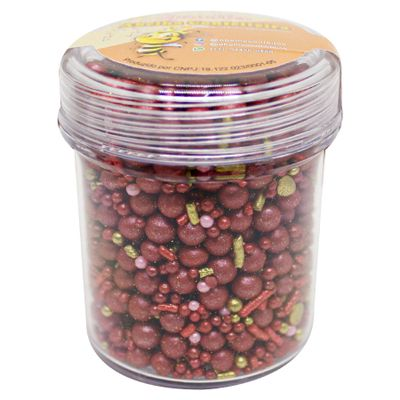 154050-Confeito-de-ACUcar-Sprinkles-Marsala-No-Pote-100g-ABELHA-CONFEITEIRA