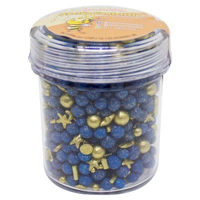 154048-Confeito-de-Acucar-Sprinkles-Blue-Gold-No-Pote-100g-ABELHA-CONFEITEIRA