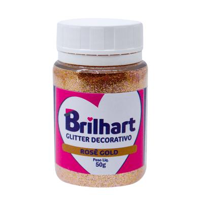 156871-Po-Para-Decoracao-Glitter-Rose-Gold-50g-BRILHART
