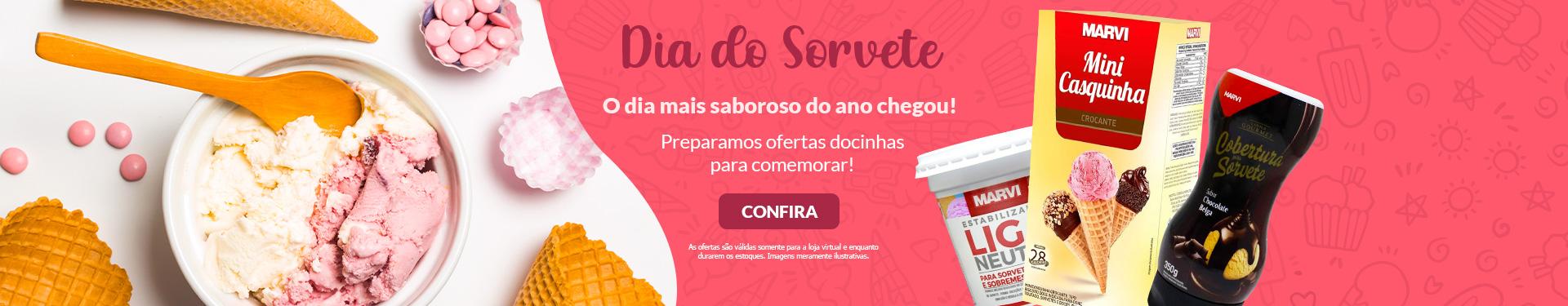 + DIA DO SORVETE