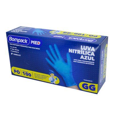 159428-Luva-Nitrilica-Azul-GG-Sem-Po-Com-100-Un---BOMPACK