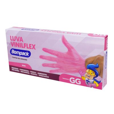 159451-Luva-Vinilflex-GG-Sem-Po-Rosa-Com-100-UN---BOMPACK